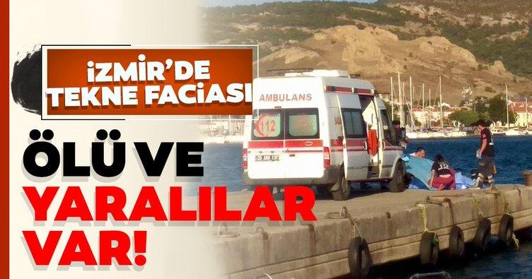 Son dakika haberi: Foça'da 10 kişinin bulunduğu tekne battı: 4 ölü, kayıp 1 kişi aranıyor