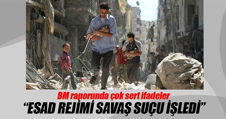 BM: Esad rejimi savaş suçu işledi