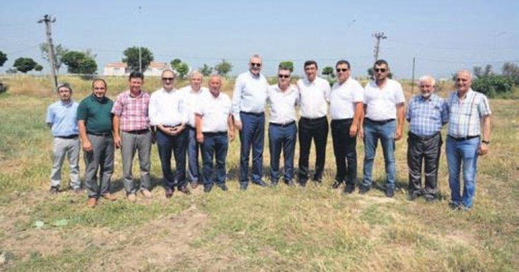 Karacabey'den Ziraat Odası'na arazi