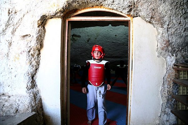 Mağarada antrenman 12 madalya getirdi