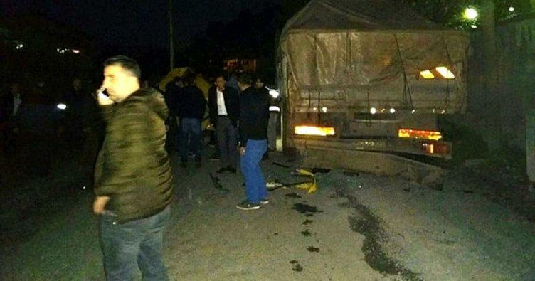 Zonguldak'ta kaza: 1 ölü, 3 yaralı