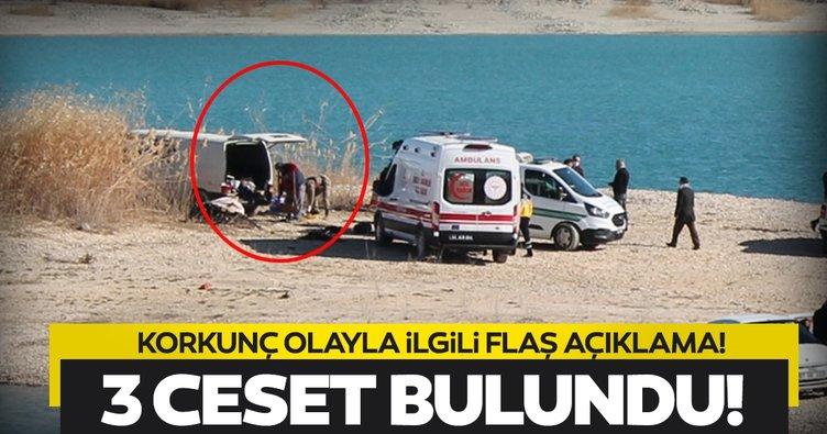 Son dakika: Şanlıurfa'da minibüsten 3 kişinin cesedi çıktı! Olayla ilgili flaş açıklama!