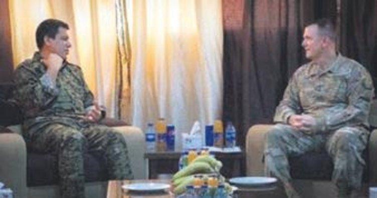 ABD'li generalden skandal görüşme