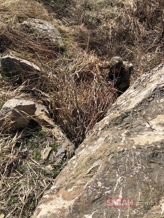 Hakkari'de terör örgütü PKK'nın silah ve mühimmatı ele geçirildi
