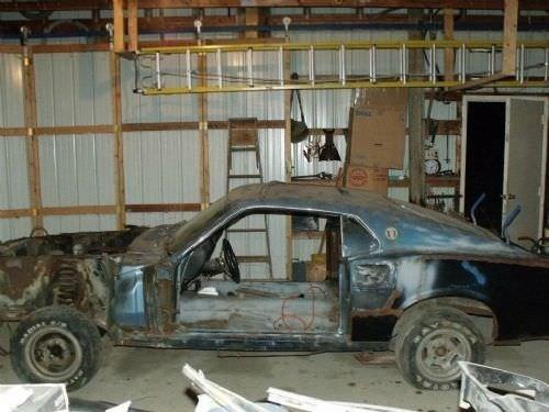 Hurda Mustangi Yeniden Yarattı Galeri Otomobil 30 Nisan 2019