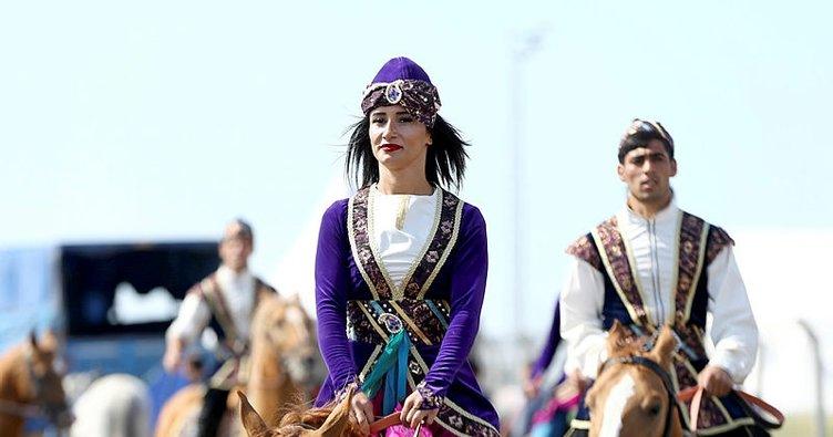 Yoğun ilginin yaşandığı Etnospor Kültür Festivali böyle geçti