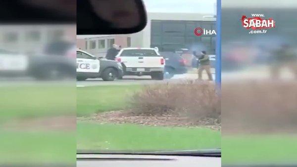 ABD'de maske takmak istemeyen şahıs polise saldırdı | Video
