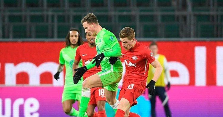 Leipzig Wolfsburg deplasmanında 2 puan bıraktı! Wolfsburg 2-2 Leipzig