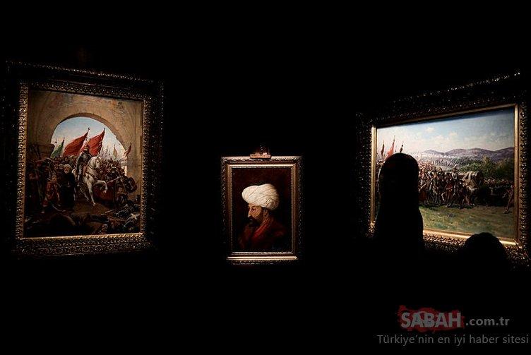 Fatih Sultan Mehmet'in ilk defa sergilenecek portresi sanatseverlerle buluşmaya hazırlanıyor