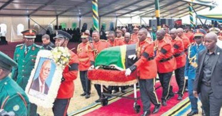 Tanzanyalı liderin cenazesinde izdiham 45 ölü