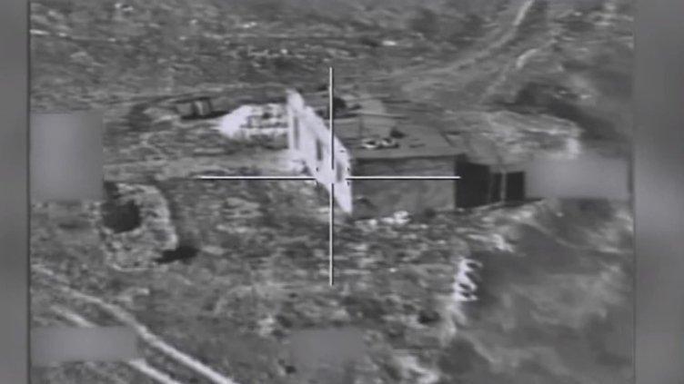 Azerbaycan ordusu, Ermenistan mevzilerini böyle vurdu! Azerbaycan görüntüleri paylaştı