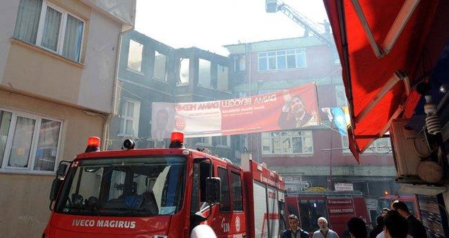 İstanbul Beyoğlu'nda yangın!