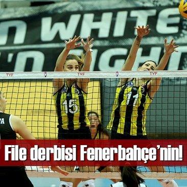 File derbisinde zafer Fenerbahçe'nin