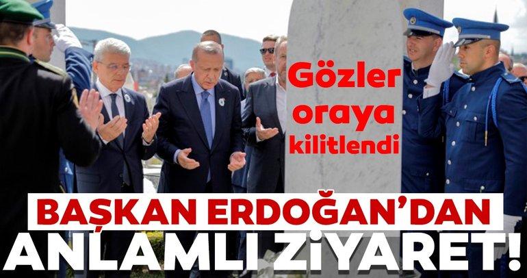 Başkan Erdoğan Bilge Kralın kabrinde!