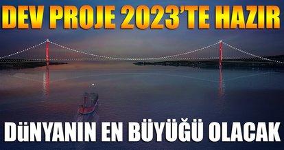 Çanakkale 1915 Köprüsü 2023 yılında hizmete girecek