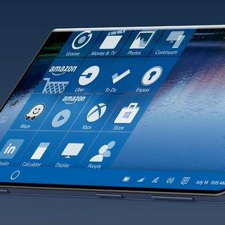 Microsoft'un katlanabilen telefonu böyle görünecek!
