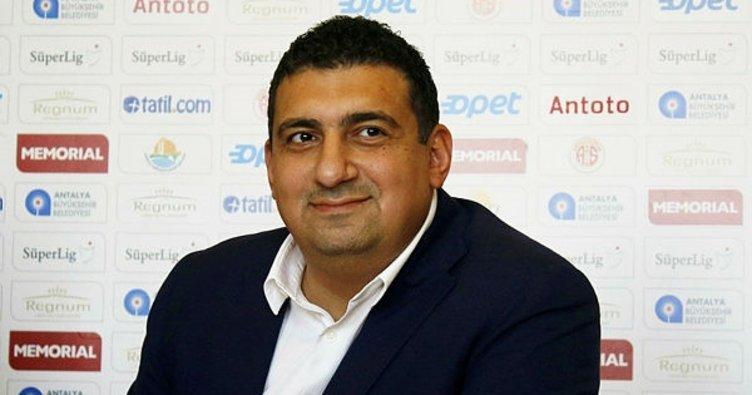 Antalyaspor'da Ali Şafak Öztürk dönemi