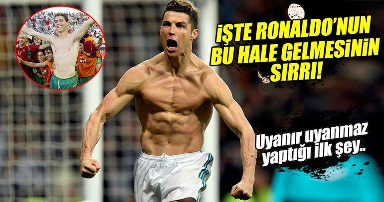 Ronaldo çelimsiz bir çocuktan, 'Hulk'a nasıl dönüştü?