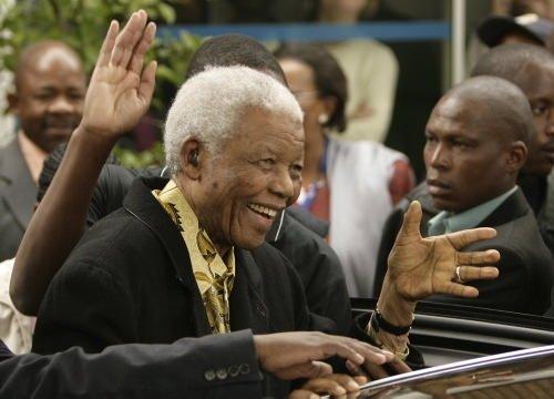 Mandela'nın çok özel fotoğrafları