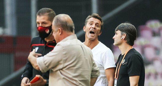 Galatasaray-Alanyaspor maçına damga vuran olay! Serkan Kırıntılı, Muslera'yı çıldırttı
