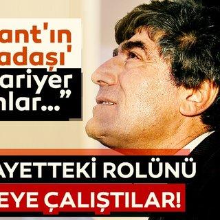 Hrant'ın arkadaşı olarak kariyer yapanlar...