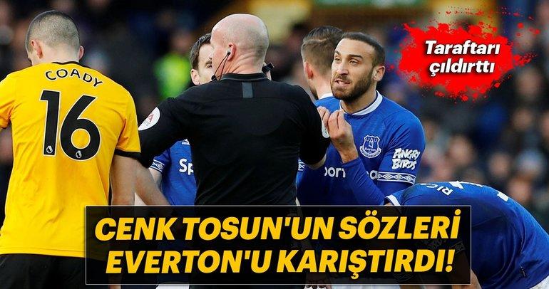 Cenk Tosun'un sözleri Everton'u karıştırdı!