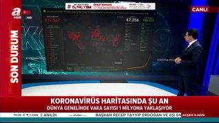 İşte bugün itibarıyla dünyada koronavirüs vaka ve güncel ölüm rakamları | Video