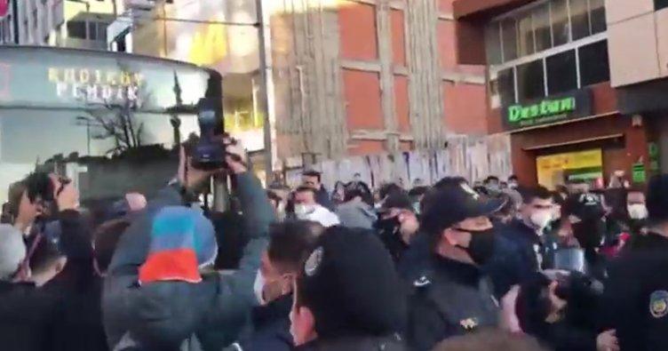 Yol kesen HDP'li vekillere vatandaşlar tepki gösterdi!
