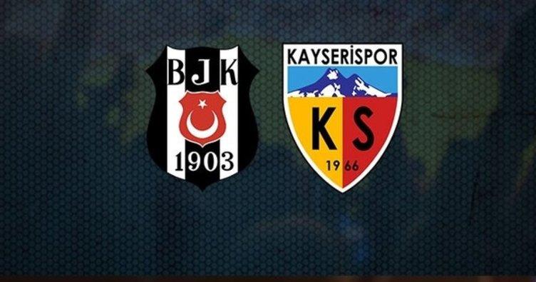 Kayserispor'a Kartal Pençesi - Beşiktaş 4 - 1 Kayserispor (MAÇ SONUCU)