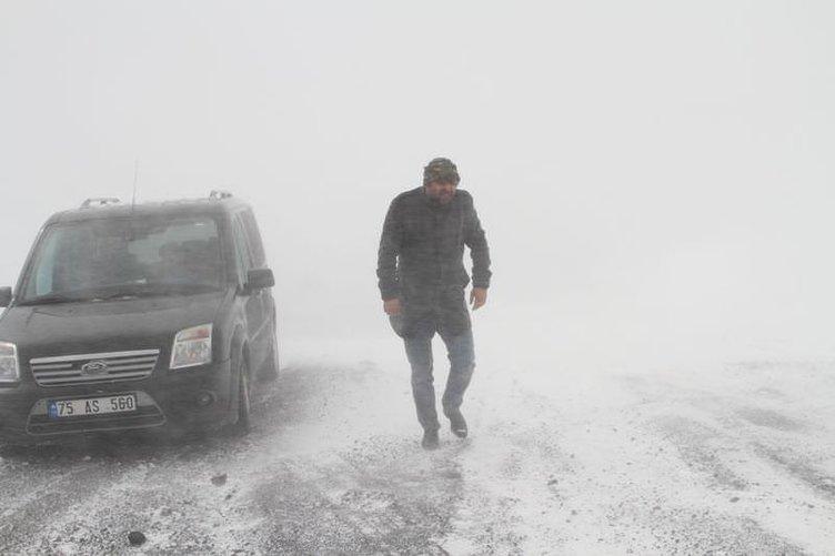 Doğu Anadolu'da kar yağışı