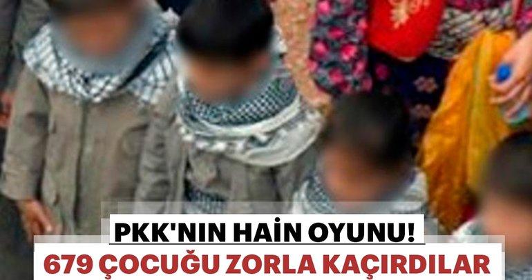 PKK/KCK'nın ağında 679 çocuk terörist var