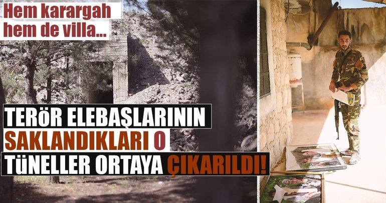 Son dakika: Afrin'de teröristlere ait yeni tüneller bulundu