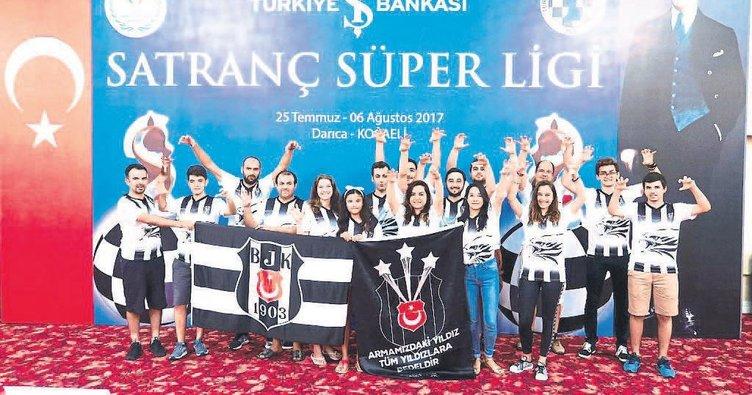 Beşiktaş hayalini kupayla taçlandırdı