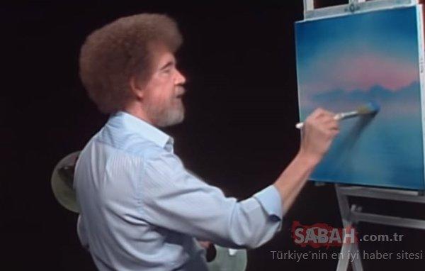 Kıvırcık saçlarıyla hafızalara kazınan ressam Bob Ross ile ilgili bu bilgi hayrete düşürdü! İşte ressam Bob Ross'un sırrı...