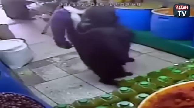 İlginç hırsızlık kamerada