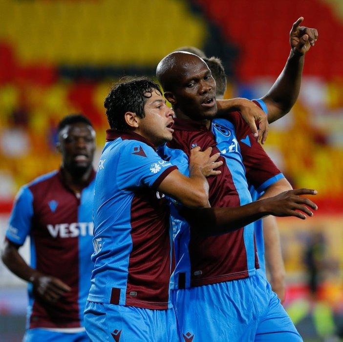 Göztepe - Trabzonspor maçından kareler