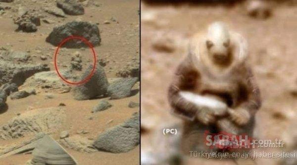 Mars'tan gelen fotoğraf kan dondurdu! NASA herhangi bir açıklama yapmadı