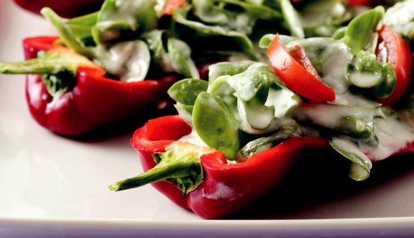 Biber Yatağında Semizotu Salatası