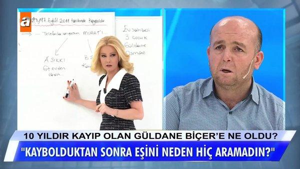 SON DAKİKA: Müge Anlı'dan kayıp Güldane Biçer'in kocası Osman Biçer'e zor  soru! Canlı yayında flaş ifade... | Video videosunu izle | Son Dakika  Haberleri