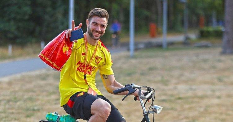 Bayram Bektaş: Her oyuncuya bir bisiklet tahsis ettik