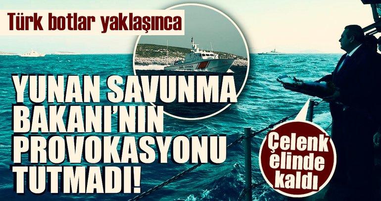 Son Dakika Haberi: Kardak'ta gerilim! Yunanistan Savunma Bakanı yaklaştırılmadı...