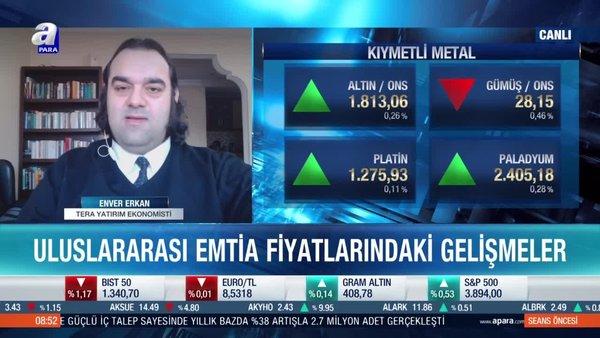 Altın mı gümüş mü? Enver Erkan: Altın güvenli liman efektinden yararlanamıyor
