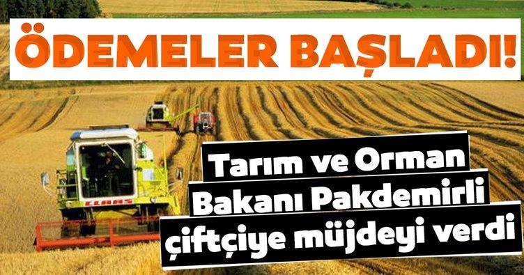 Son dakika: Tarım ve Orman Bakanlığı'ndan çiftçiye destek müjdesi!