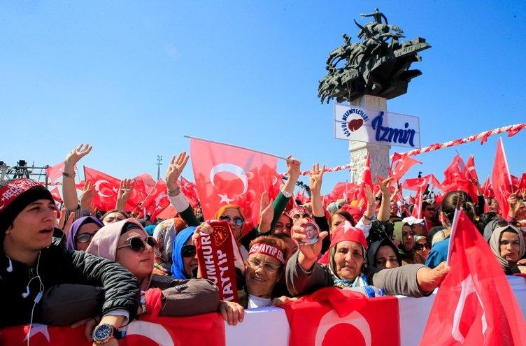 İzmir'de Yenikapı ruhu