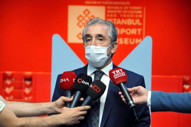 İstanbul Havalimanı'nda 'Türkiye'nin hazineleri, tahtın yüzleri' sergisi
