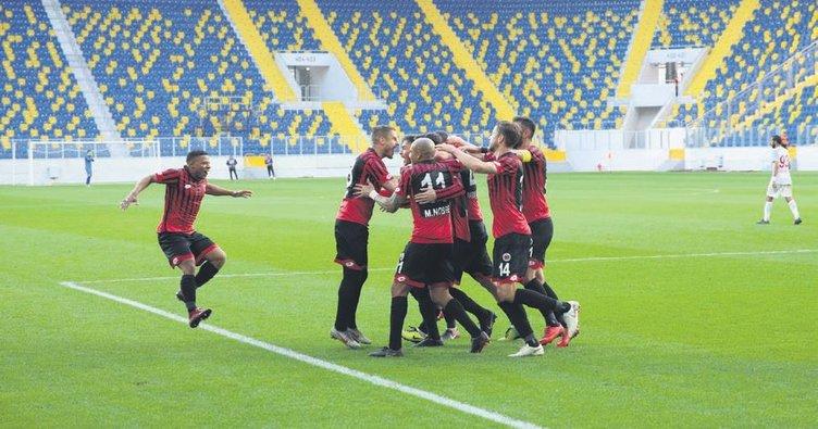 Denizlispor'un beraberliği yaradı