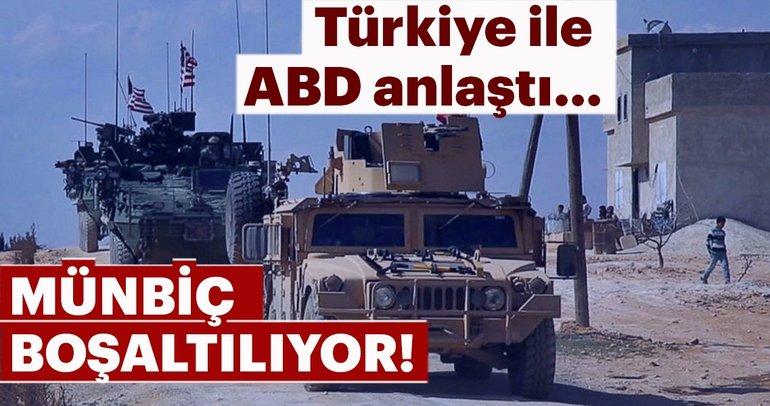 Son Dakika: Türkiye ile ABD'den Münbiç için 3 aşamalı plan