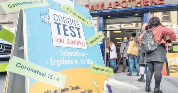 Korona testleri ücretli oldu