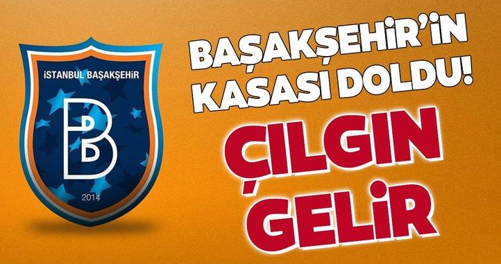 Başakşehir şampiyon oldu kasasını doldurdu!