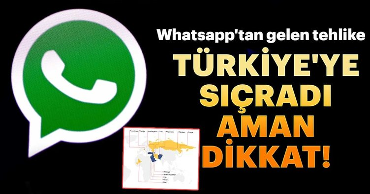 Türkiye'ye sıçradı, aman dikkat!... İşte Whatsapp'tan gelen o tehlike...